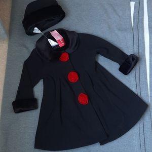 Dress coat and hat
